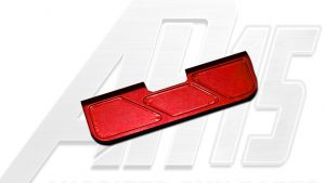 Red Anodized AR15 Ejection Port Dust Cover