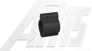 AR15 Black Anodized Low Profile Gas Block