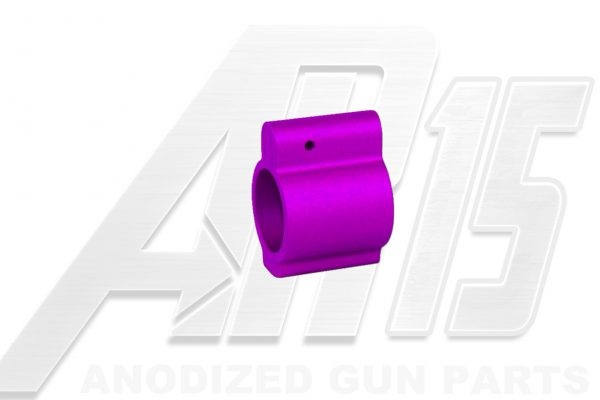 AR15 Blood Moon Purple Anodized Low Profile Gas Block