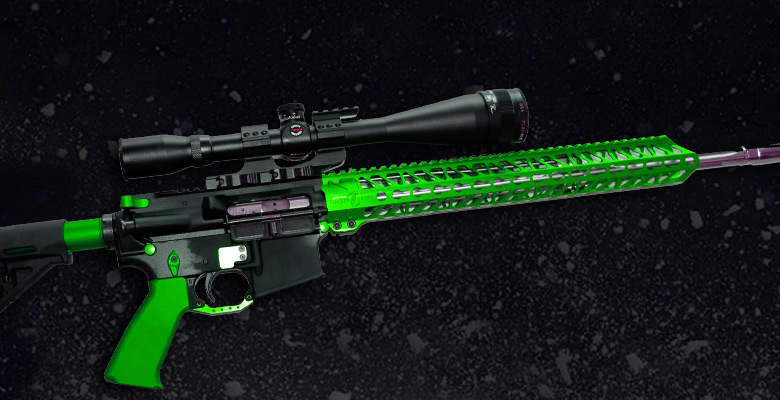 ar15-green-anodized